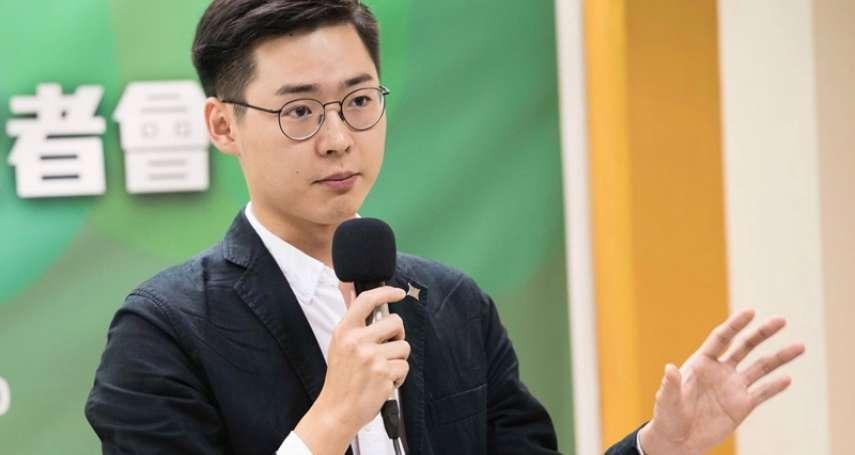 曾向馬英九丟書反對統一言論 台灣基進推23歲顏銘緯挑戰賴士葆