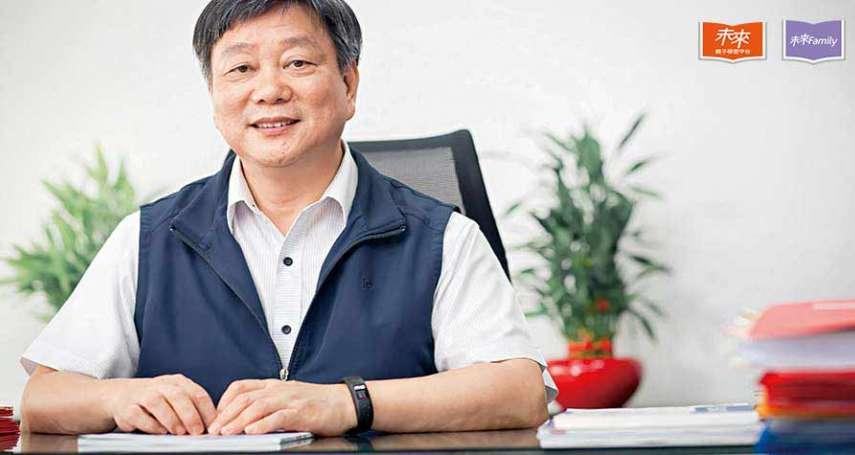 專訪台南市教育局長鄭新輝:學生畢業中、英文都好,才是雙語教育