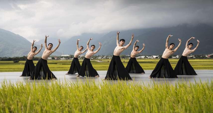 稻浪間舞出松煙墨色 林懷民盼讓「最近鬱卒的台灣人」看見天地之大