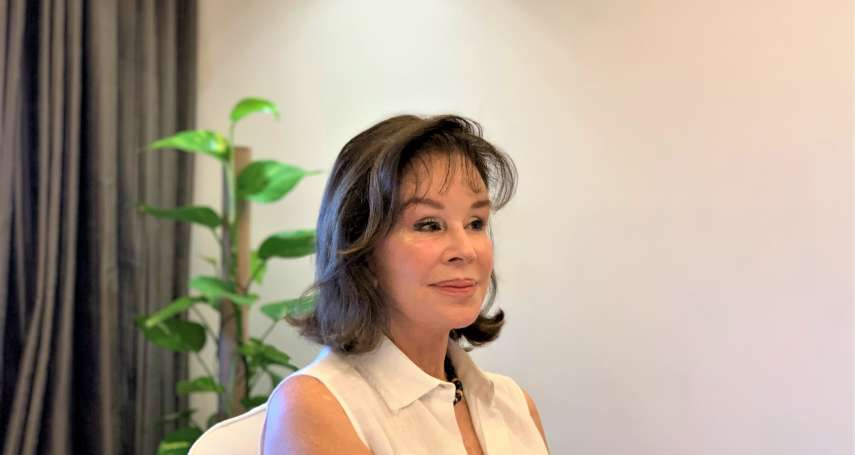 「在台灣有無敵美好時光」 跟隨外交官父親駐台近3年 祕魯前外長夫人龔薩蕾絲讚台灣愛心無所不在