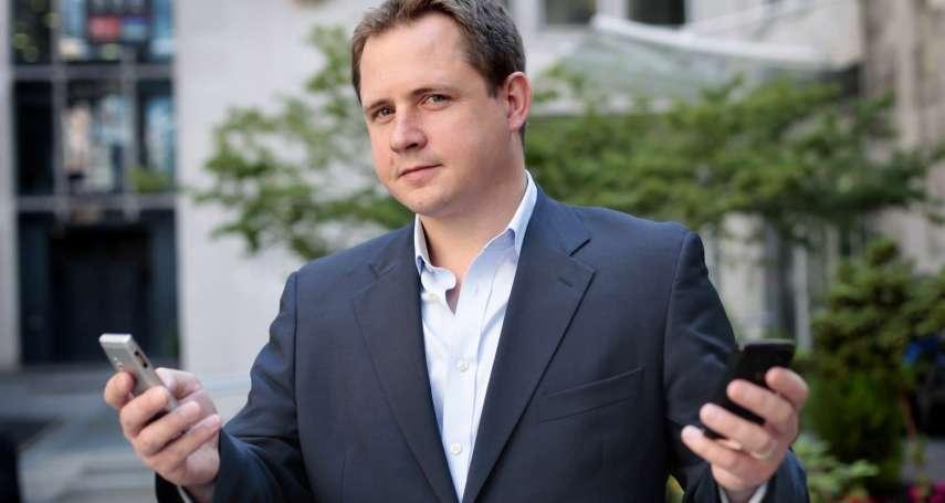 英國前FinTecn商業大使首度登台  暢談未來10年金融趨勢