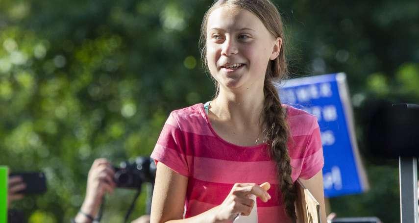 新世代救地球.逾400萬人響應》瑞典少女鬥士通貝里:我們充滿希望,但也要做好抗爭準備