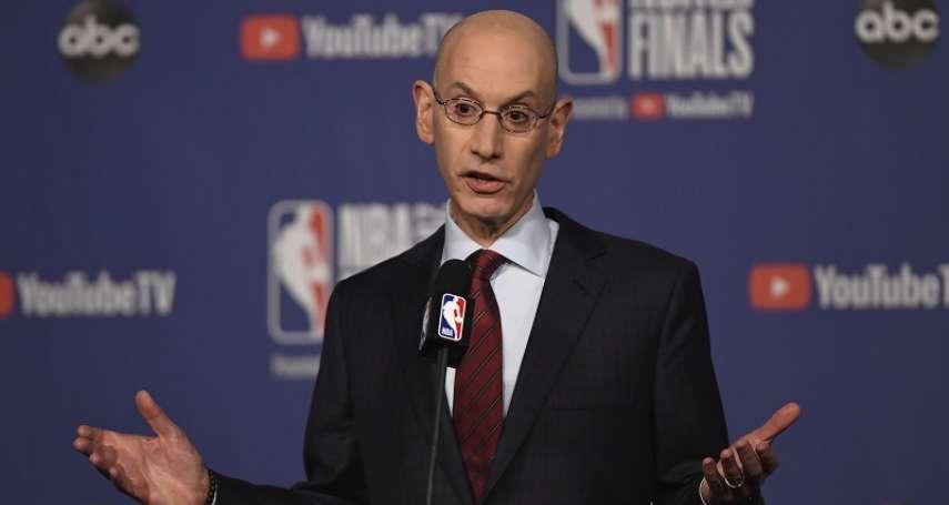 NBA》中國政府曾要求開除莫雷,主席西爾弗硬頸回絕:這絕不可能!
