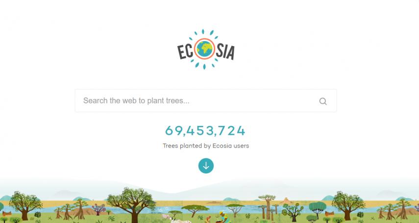 你每搜尋45次,它就幫你在世上種下一棵樹!改變許多人一生的搜尋引擎Ecosia