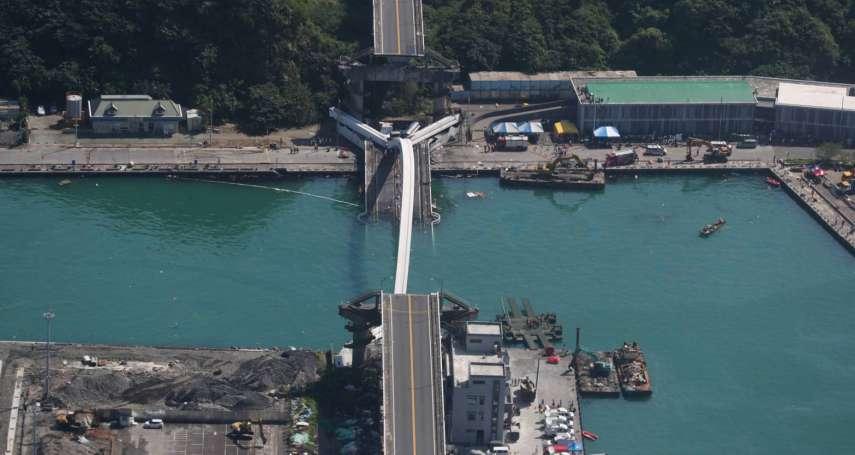 陳振川觀點:健全建設部組織及法令,才可避免一再斷橋之憾