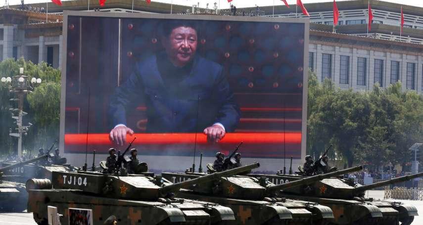 中國不是口口聲聲「和平崛起」,習近平掌權7年為什麼閱了5次兵?