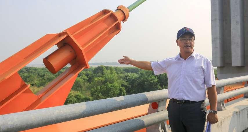 中市府檢測15座鋼索橋梁 全數正常