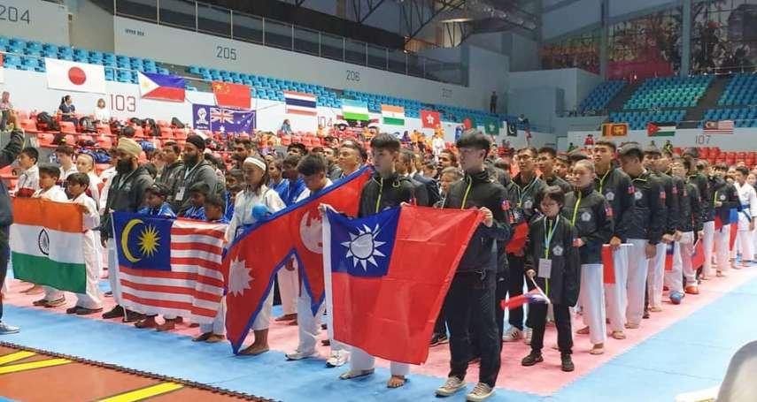 2023空手道剛柔會亞太錦標賽 台首獲主辦權、期以地主之勢奪冠