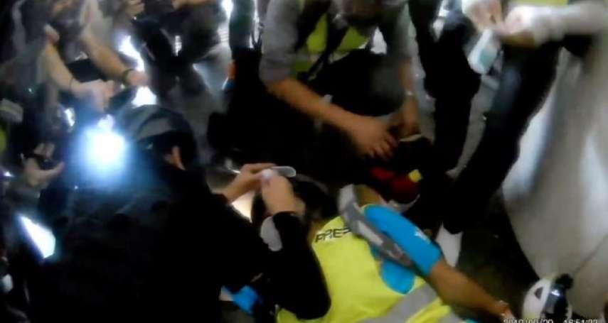 香港反送中》疑遭橡膠子彈擊中眼睛的印尼女記者瞳孔破裂,考慮對警方提告