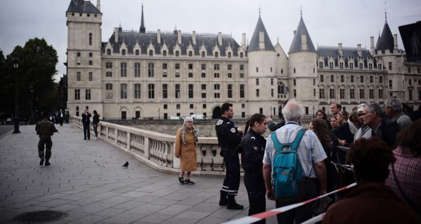 巴黎警察總局濺血!1名員工突然抓狂,持刀刺殺4名警察