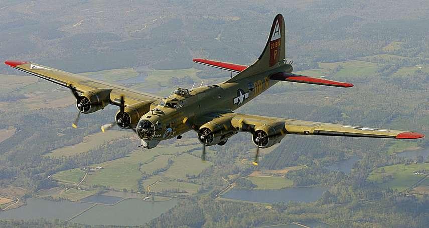 空難!二戰美軍傳奇轟炸機B-17「空中堡壘」墜毀,至少7人罹難