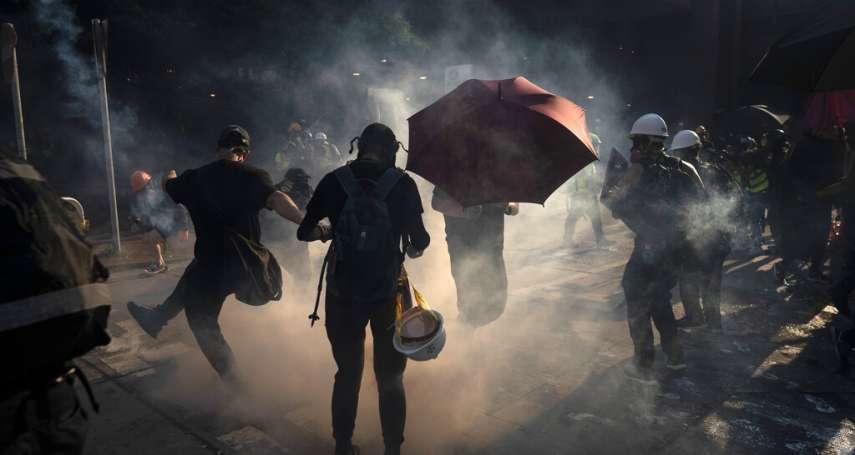 「現在周末要是沒有催淚彈,大家反倒覺得不正常了!」香港青年的反送中日常:催淚彈已是基本套餐,沒有人在怕