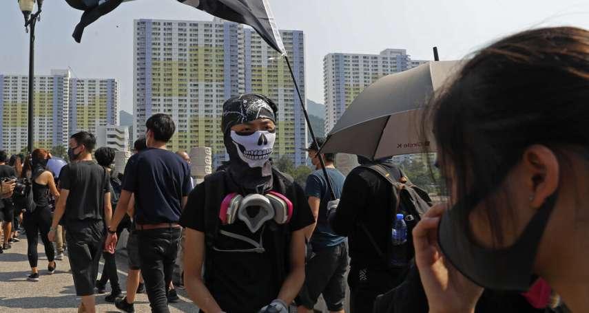 香港政府將頒布《反蒙面法》,民間記者會反將一軍:不如由警方做起,大家坦誠相見!