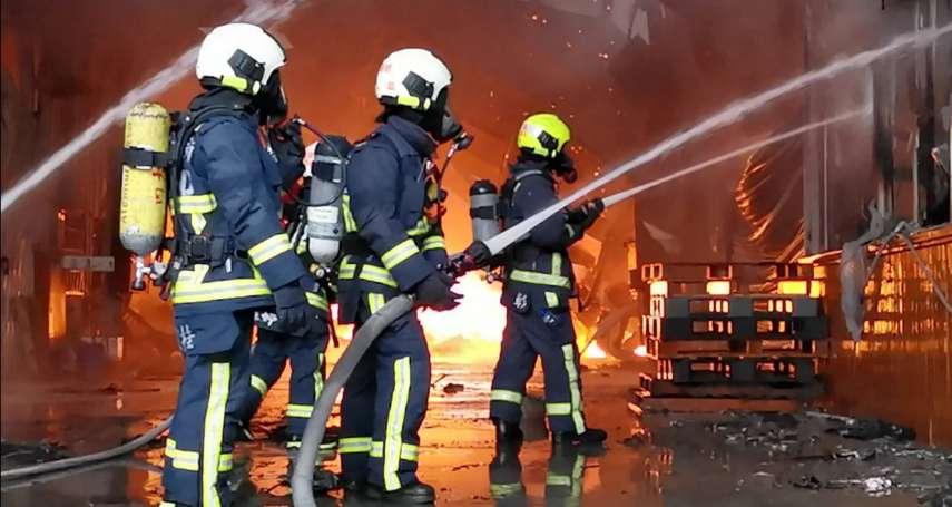 「消防員退避權入法」 蘇嘉全:總質詢後優先處理消防法