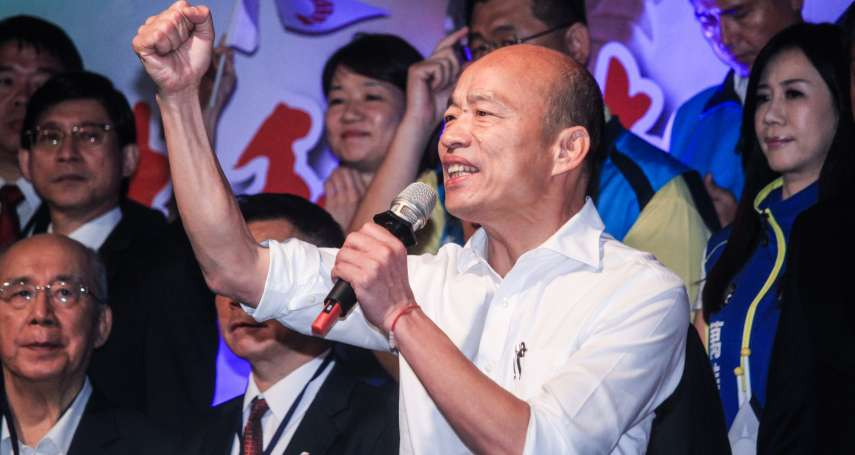 「選民已經認定韓國瑜」 前立委再預測大選:韓會贏80至100萬票!