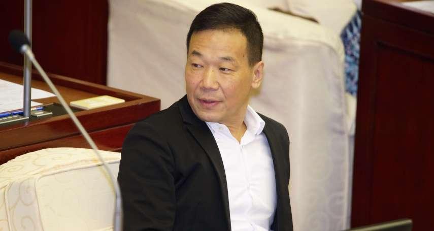 鍾小平想回國民黨 黨部回絕:自行退黨2年內無法再入黨