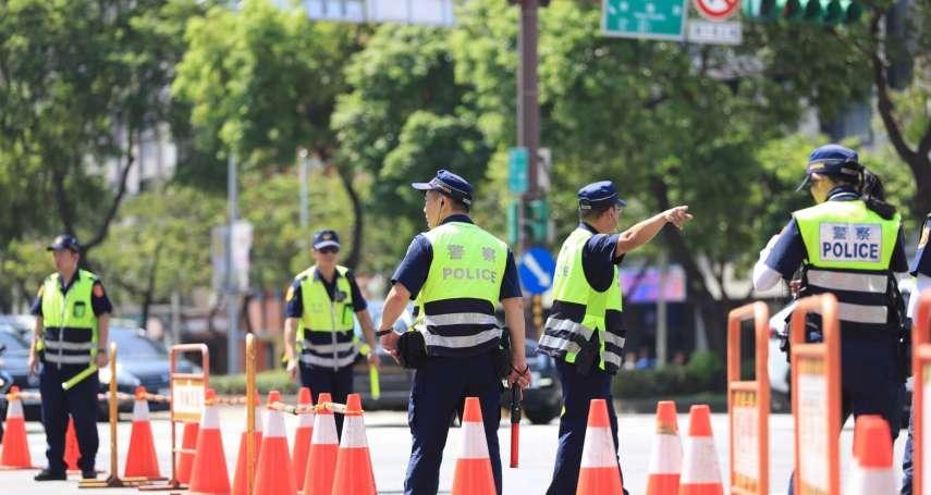 北市警國慶維安總動員 市府升旗、中樞大會、英雄踩街順利落幕