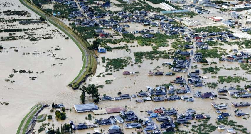 哈吉貝只是「中度颱風」為何能重創日本?氣象專家點出原因:遇上「秋颱效應」