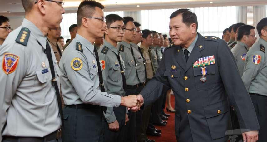 國軍政戰局長懸缺補實 陸軍政戰主任簡士偉接任今布達