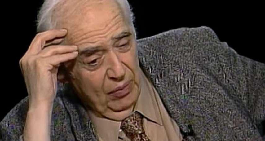 擁護「西方正典」的文學評論大家哈洛.卜倫病逝,享壽89歲