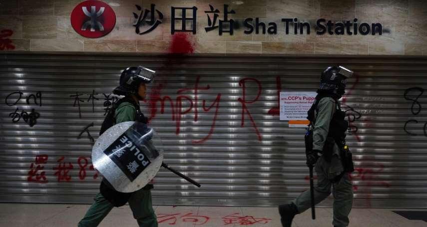 反送中最年幼被告認罪》香港12歲童噴漆「死黑警全家」,遭警員跟蹤返家、控刑事毀損