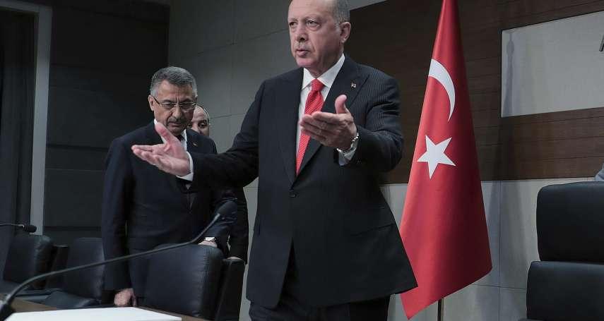 「沒有停火這個選項」 土耳其總統不怕美國制裁 朱利安尼獻計驅逐艾爾多安死對頭居倫