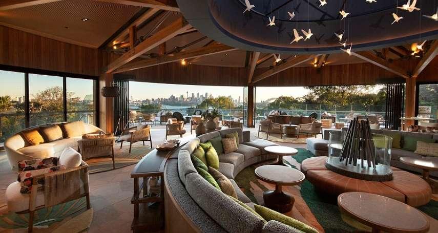 這間新開幕的非營利野生動物酒店將澳洲自然生態與雪梨港海景盡收眼底,盈餘還將用來支持生態保育!