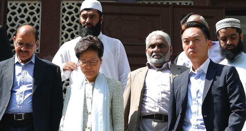 【國際廣角鏡】到九龍清真寺道歉,林鄭月娥做錯了什麼?臨陣急抱穆斯林腳,香港不該放棄擁抱多元身份