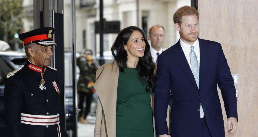 「快門聲與閃光燈喚起我的喪母之痛」 英國哈利王子夫婦透露內心話 梅根:友人曾警告八卦小報會毀了我