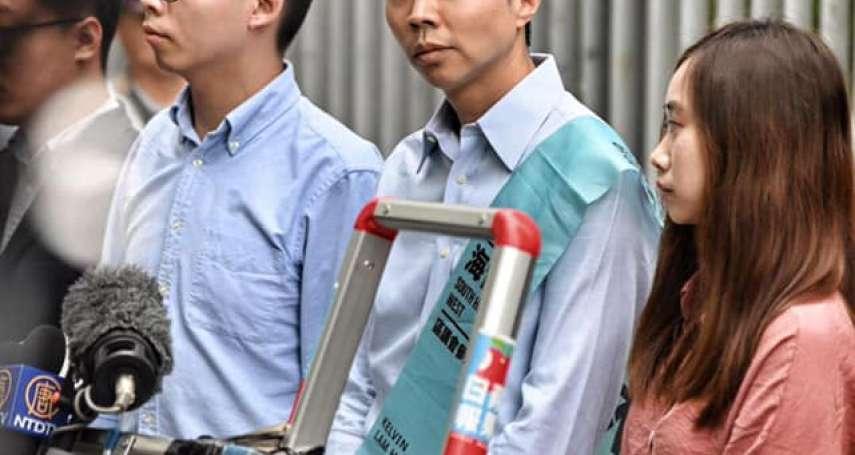 「中國當權者恐懼民主,香港政府甘作鷹犬!」參選區議員資格遭取消,黃之鋒痛批「莫須有」