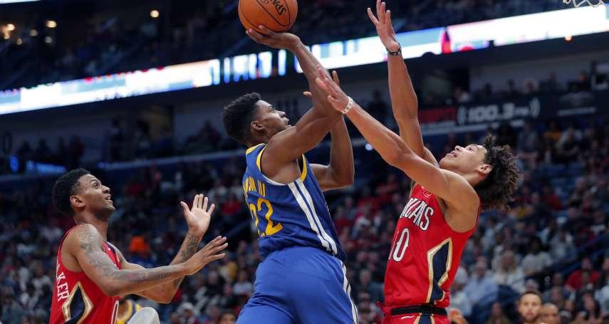NBA》勇士想脫離開季低潮 角色球員的發揮至關重要