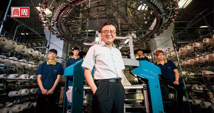 佰龍董座:去了中國,全球3大輪不到我!瑞芳山城的紡織機冠軍