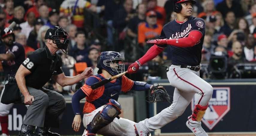 MLB》打點功力了得 國民強打少年索托比肩傳奇球星