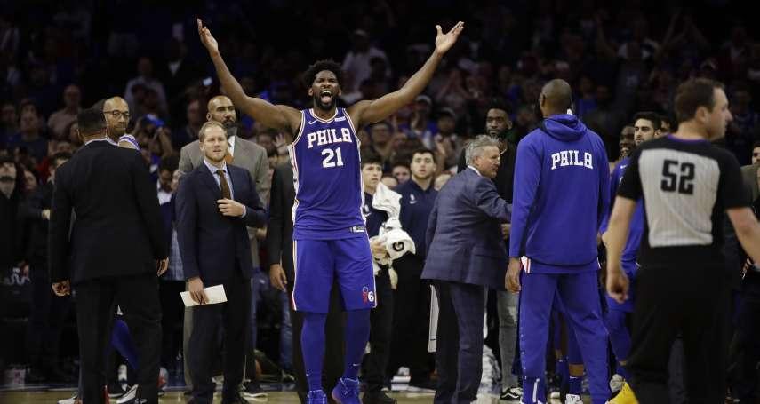 NBA》與唐斯上演全武行遭驅逐 安比德:這是我最擅長的