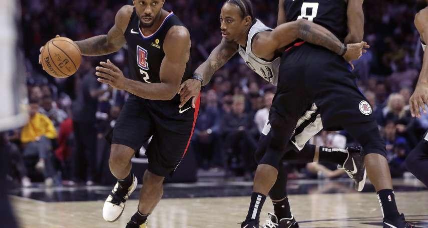 NBA》雷納德38分擊敗前東家馬刺 賽後這一抱夠溫馨