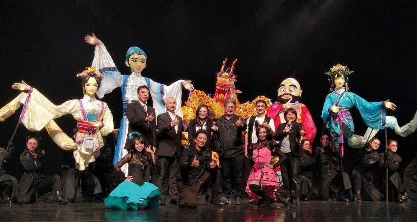 紙風車劇團年度新作來了!《白蛇傳》11米長LED花燈偶超吸睛