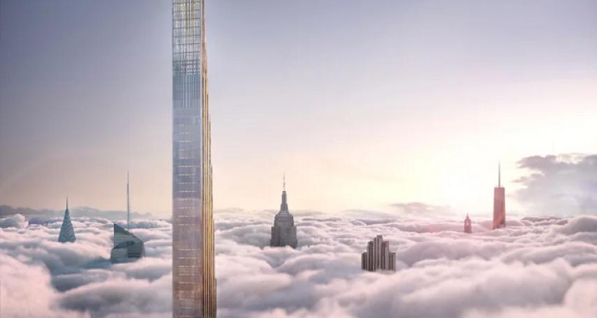 世界最薄摩天大樓落成,同時也是紐約最高建築,可俯瞰中央公園,地基的選擇還有這層深意...