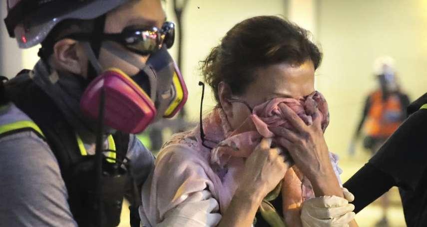 這煙有毒?香港記者稱戴奧辛中毒,港人憂萬枚催淚彈已化作毒煙污染蔬果、空氣,更恐生出畸形兒
