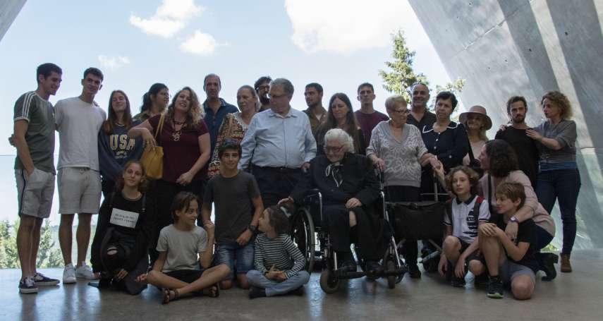 橫跨3/4世紀的恩惠》二戰期間出手保護猶太家族 92歲希臘救命恩人與倖存者家族在以色列重逢