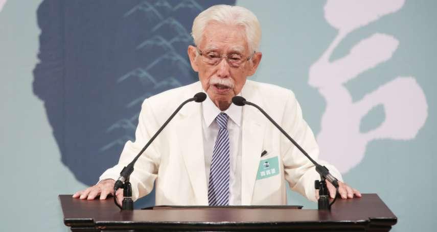「為政權騙2300萬台灣人?」辜寬敏嗆民進黨不制憲辭資政