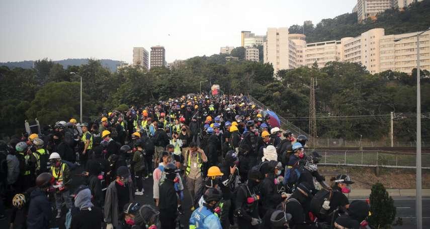 昨遭港警以千枚催淚彈攻打,香港中文大學宣布:本學期結束,所有課程取消!
