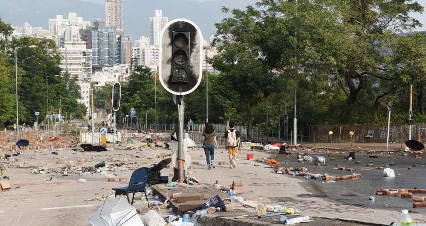 香港三罷高峰「返工」有多難?四名BBC記者的真實通勤經歷