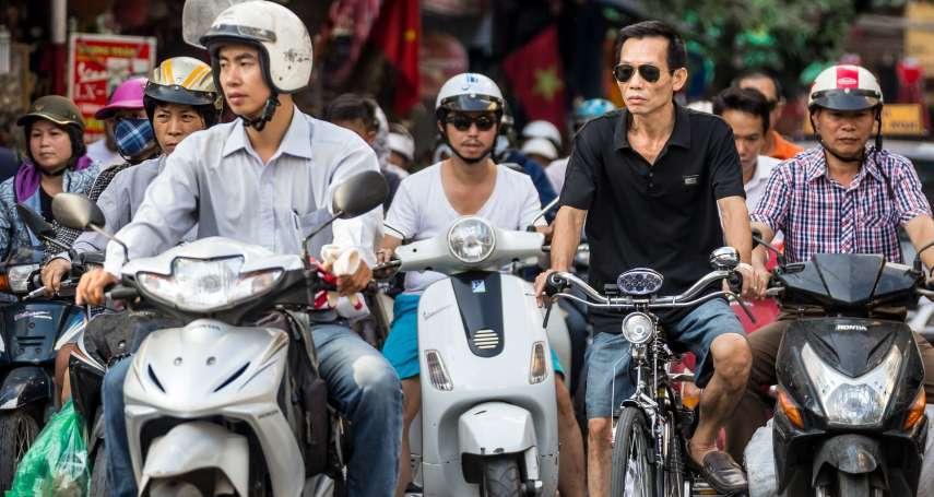 雙管齊下搶救空污災難!越南首都河內2030年市區禁行機車,企業全速研發電動車