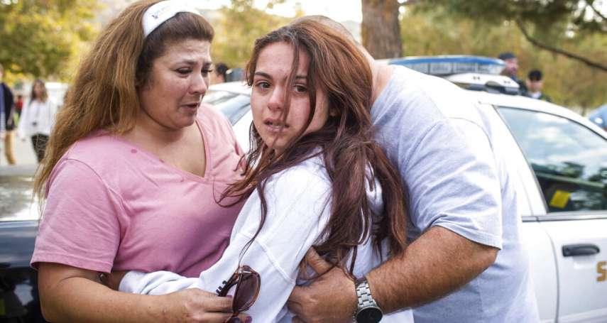 「功課好的乖孩子」16歲生日當天到校殺人、舉槍轟頭!美國加州高中槍擊案2死3傷,槍手命危