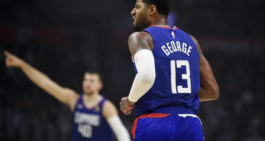 NBA》轟37分締造個人和球隊新紀錄 喬治宣告:我回來了