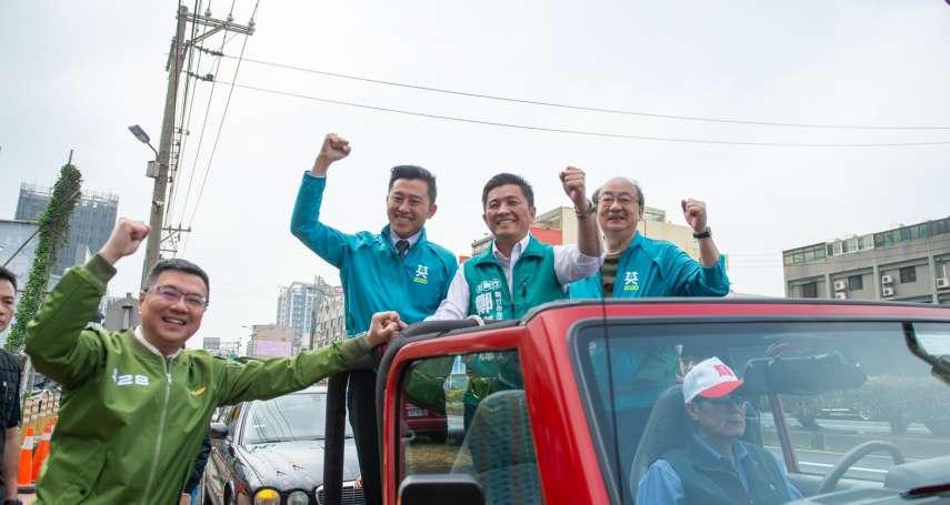 爭新竹唯一立委席次 林智堅:鄭宏輝民調與藍營對手出現黃金交叉