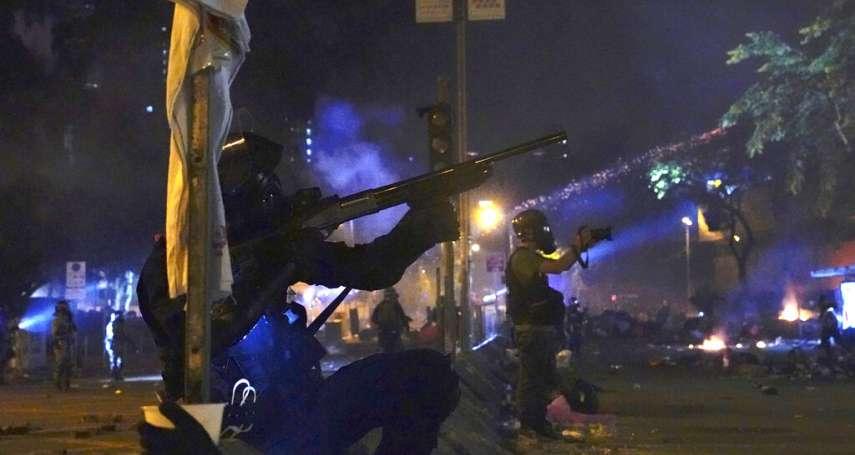 說好的「暫停武力」呢?香港警察毀諾狂射催淚彈:抗爭者今早突圍失敗,數千人繼續死守校園