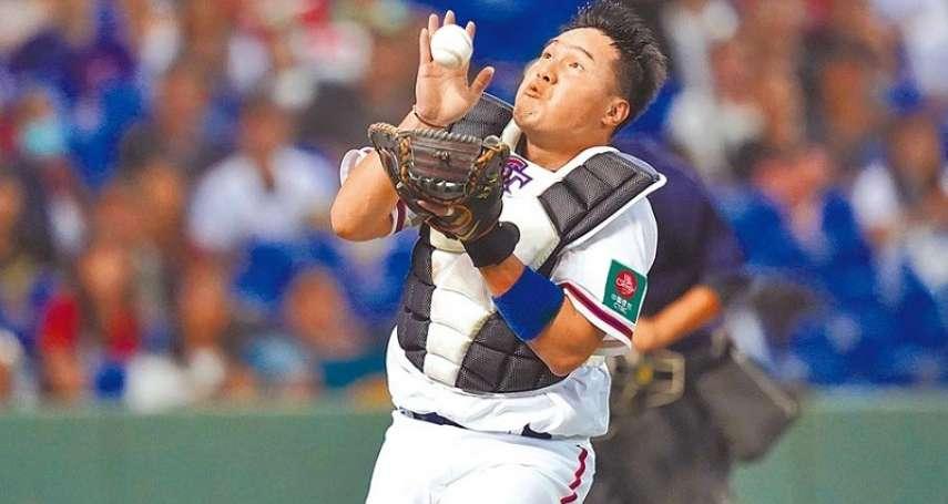 棒球》張進德12強展現拚勁 與捕手群研究情蒐印象深