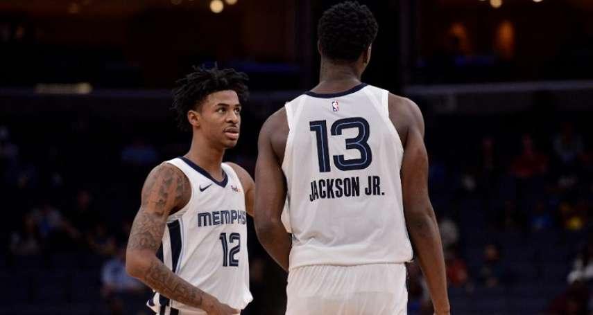 NBA》接棒康利和小加索 莫蘭特攜手傑克森開創灰雄新世代
