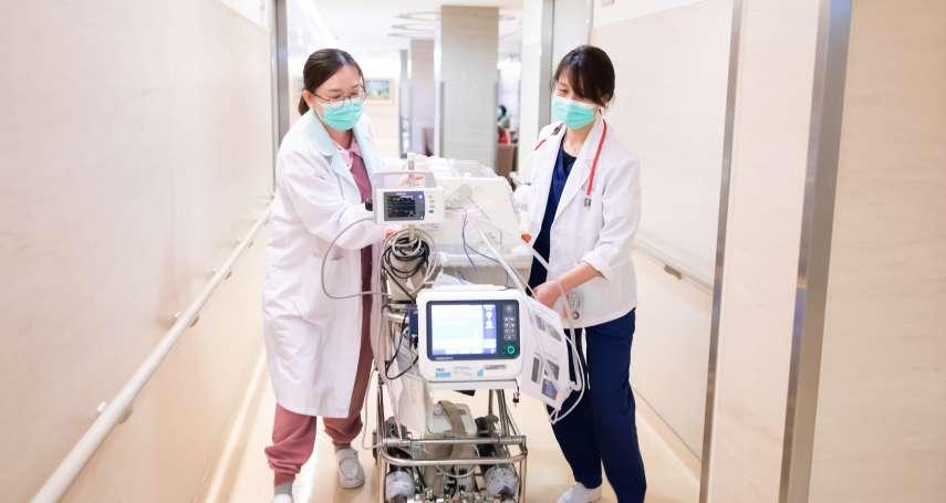 新生兒出狀況「即刻救援」 轉診外接服務搶救一線生機